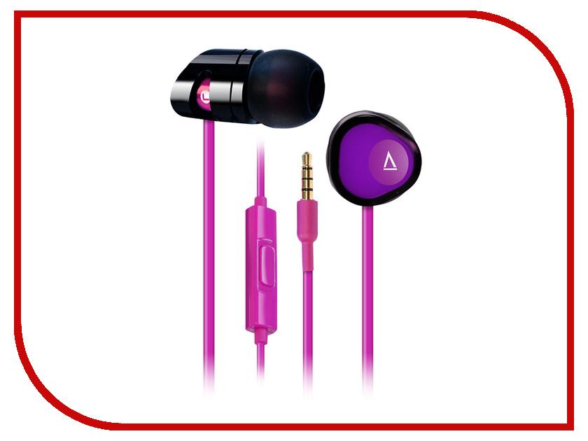 Гарнитура Creative MA-200 Black-Purple гарнитура creative ma 200 red black