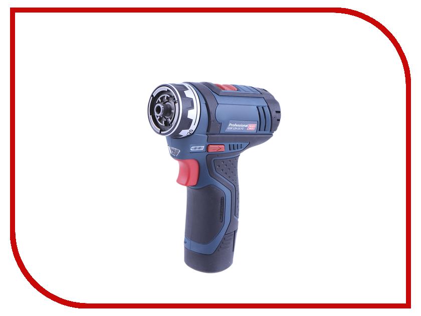 Электроинструмент Bosch GSR 12V-15 FC L-BOXX 06019F6001 гайковерт bosch gsr 10 8 v ec te 2 5ah x2 l boxx 06019e4000