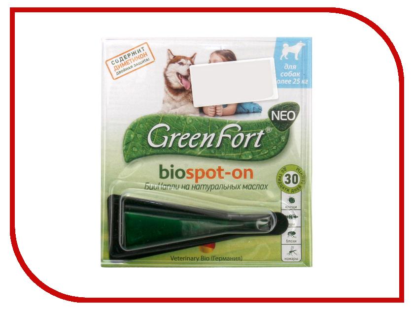 Средство защиты от клещей GreenFort Био капли G203