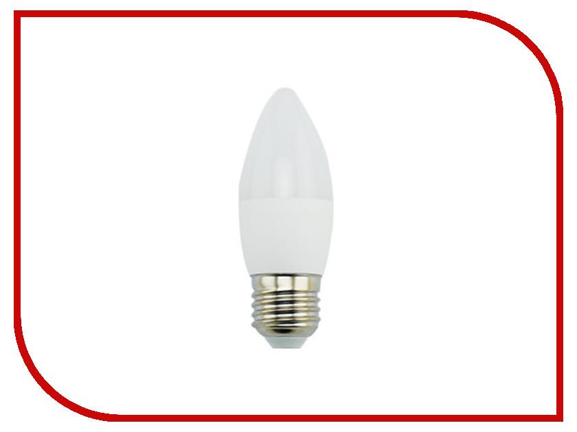 Лампочка Ecola Candle LED Premium E27 9W 220V 2700K свеча C7MW90ELC лампочка ecola candle led premium 8 0w 220v e14 2700k прозрачная свеча с линзой c4qw80elc