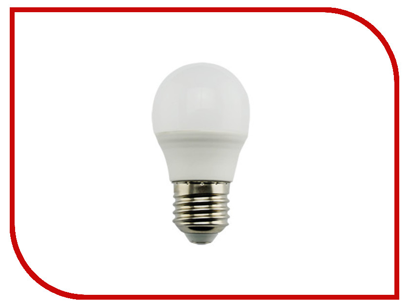 Лампочка Ecola Globe LED Premium G45 9W 220V 2700K шар K7QW90ELC лампочка luazon e27 9w 4200к al 1489121