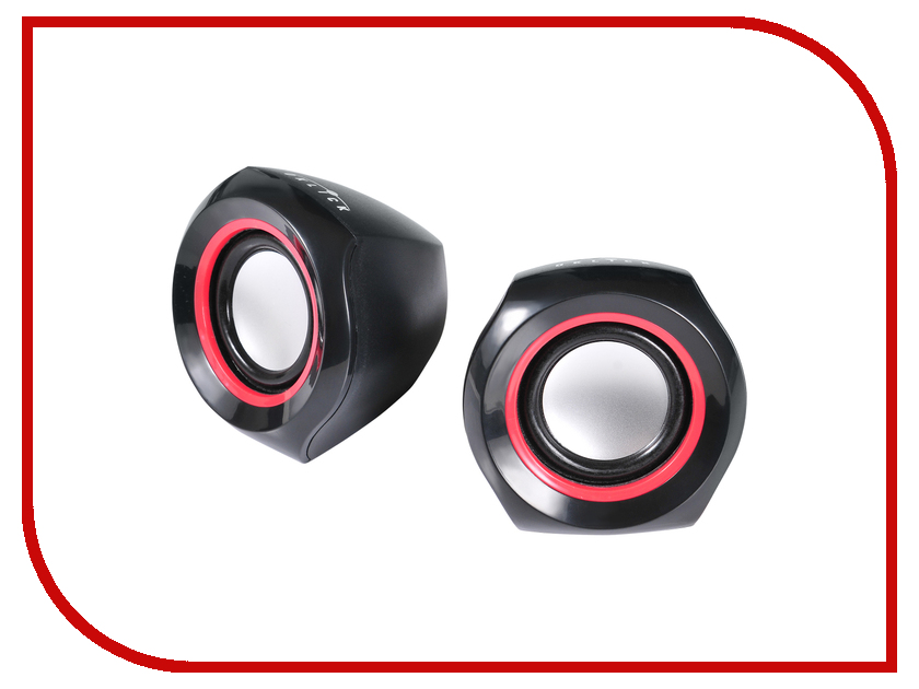 Колонка Oklick OK-206 Black-Red