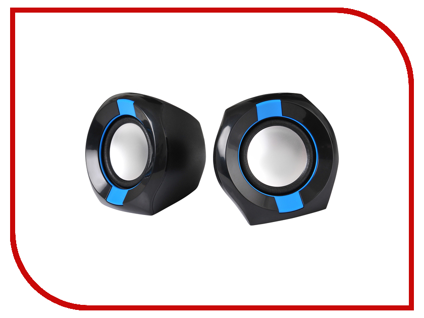 Колонка Oklick OK-203 Black-Blue