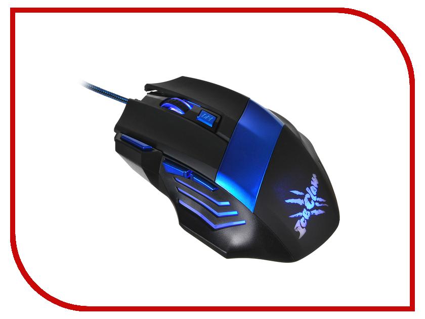 купить Мышь Oklick 775G Black-Blue онлайн