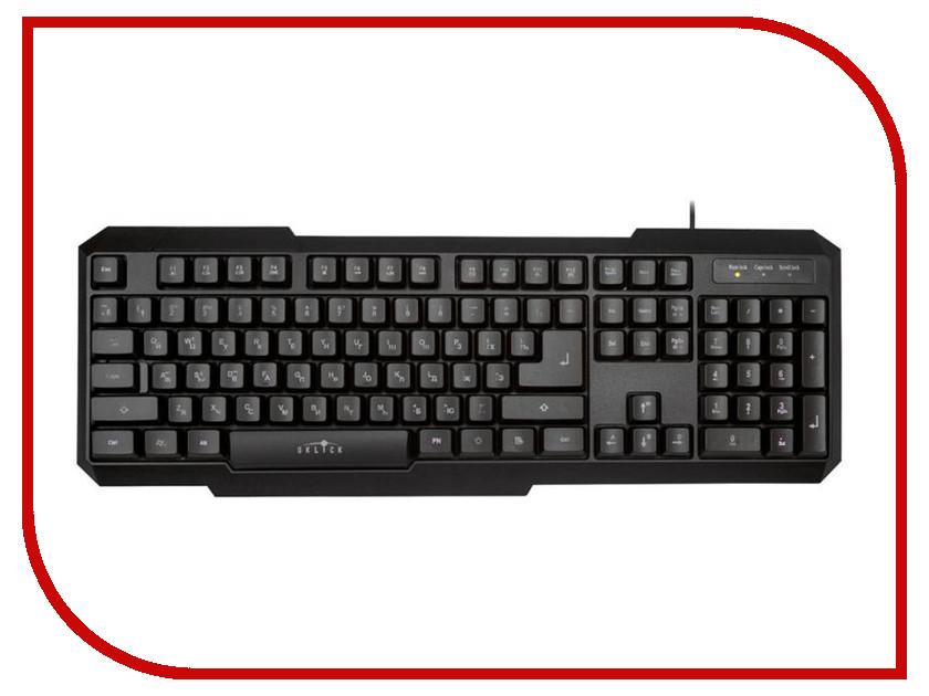 Клавиатура Oklick 740G Black