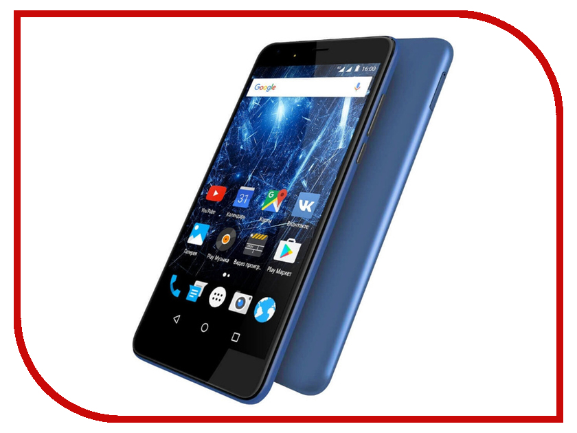 Сотовый телефон Highscreen Easy XL Pro Blue смартфон highscreen easy xl gold