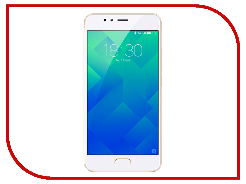 Сотовый телефон Meizu M5S 16Gb Gold 100% tested for meizu m5s meilan 5s lcd mini display touch screen digitizer assembly replacement free shipping with tools as gift