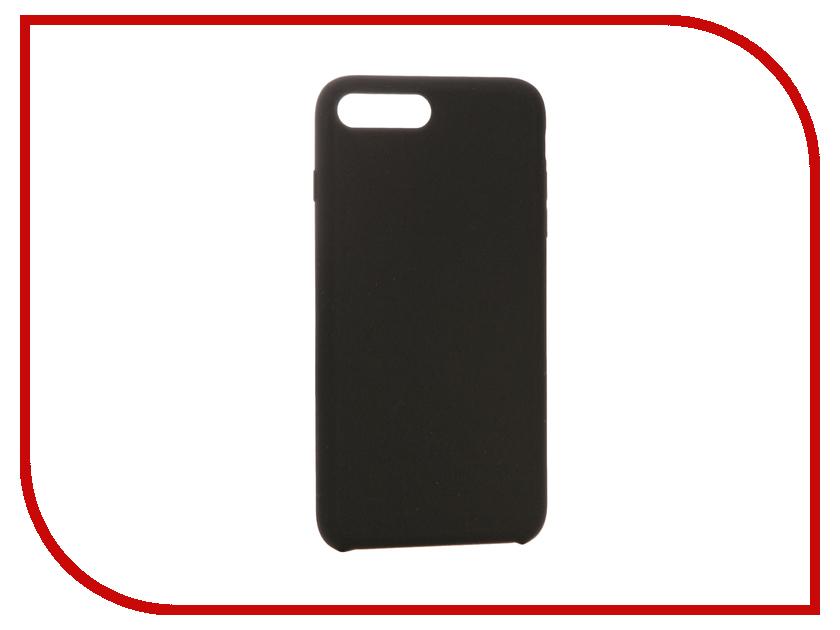 Аксессуар Чехол Hardiz Liquid Silicone Case для APPLE iPhone 7 Plus Black HRD777100