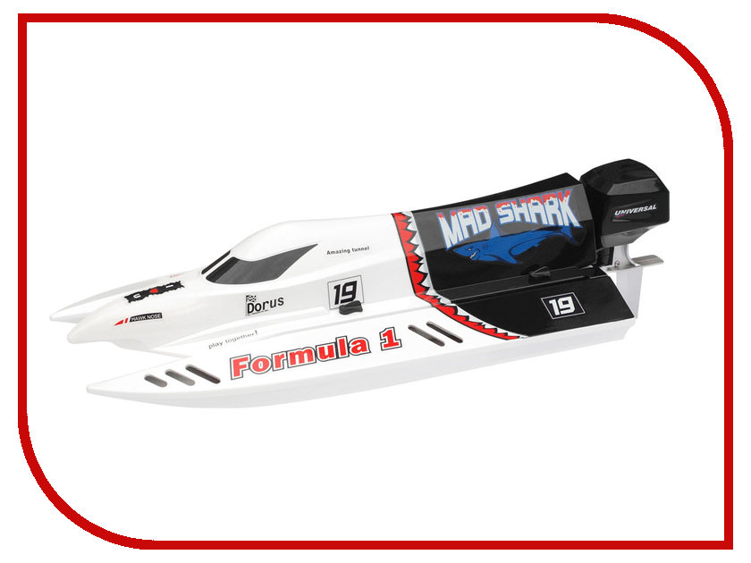 Игрушка Joysway Mad Shark Brushless RTR White JS8205 emax gt5335 250kv outrunner brushless motor