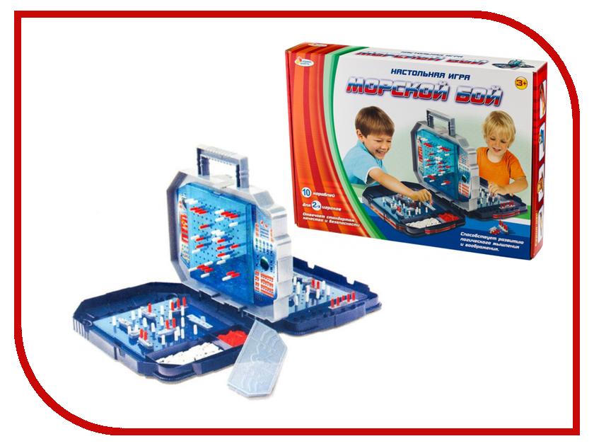 Настольная игра Играем вместе Морской Бой B1326530-R настольные игры играем вместе настольная игра узнай кто