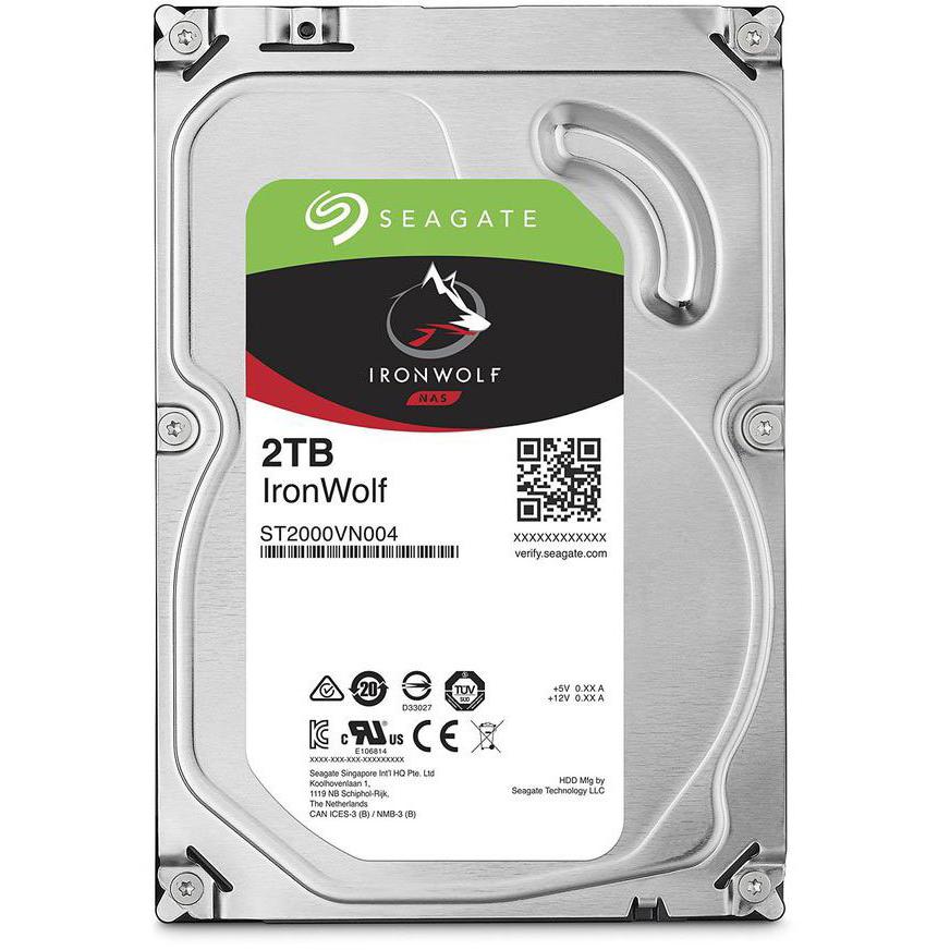 Жесткий диск Seagate IronWolf NAS 2Tb ST2000VN004 — ST2000VN004
