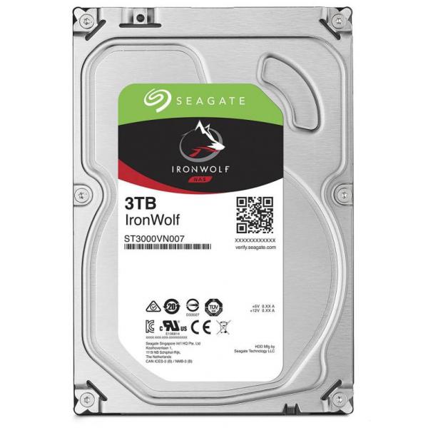 Жесткий диск Seagate IronWolf NAS 3Tb ST3000VN007 — ST3000VN007