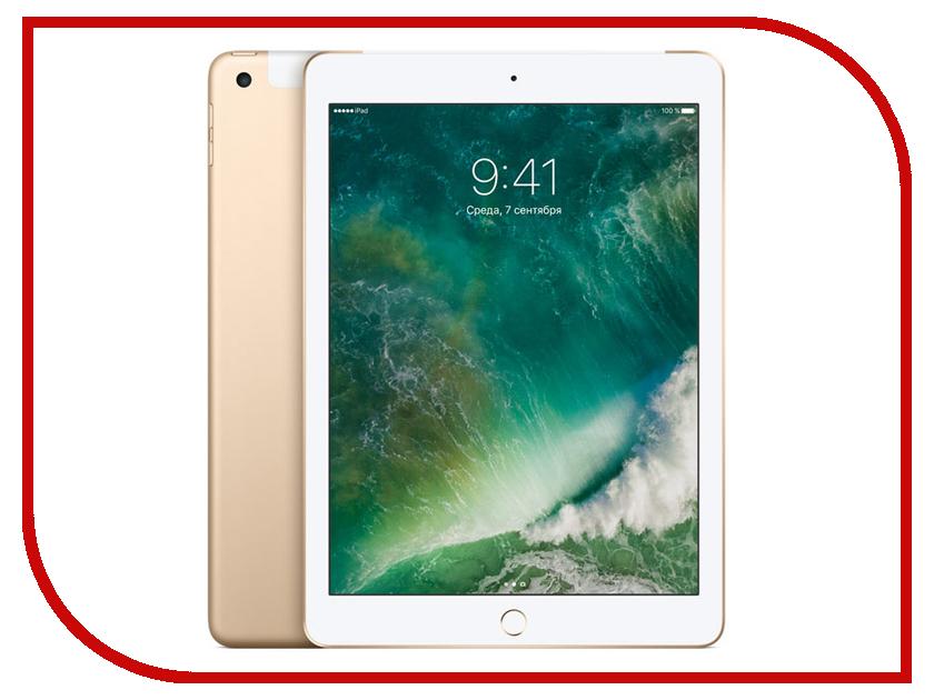 Планшет APPLE iPad 2017 9.7 Wi-Fi + Cellular 128Gb Gold MPG52RU/A планшеты apple планшет ipad wi fi cellular 32gb space grey 2017