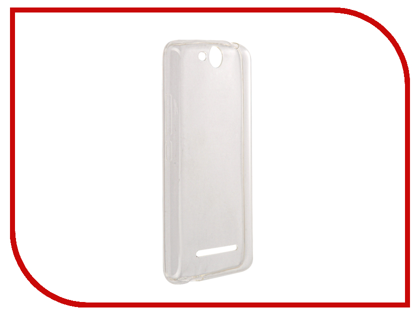 Аксессуар Чехол Micromax Canvas Juice 2 Q392 Svekla Silicone Transparent SV-MMQ392-WH