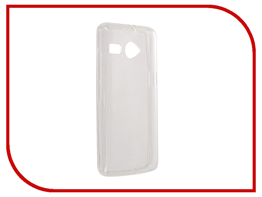 Аксессуар Чехол Micromax Bolt Q326 Svekla Silicone Transparent SV-MMQ326-WH