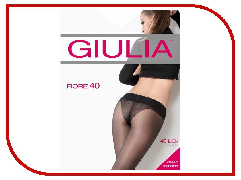 цена  Колготки Giulia Fiore Bikini размер 4 плотность 40 Den V.B. Nero  онлайн в 2017 году