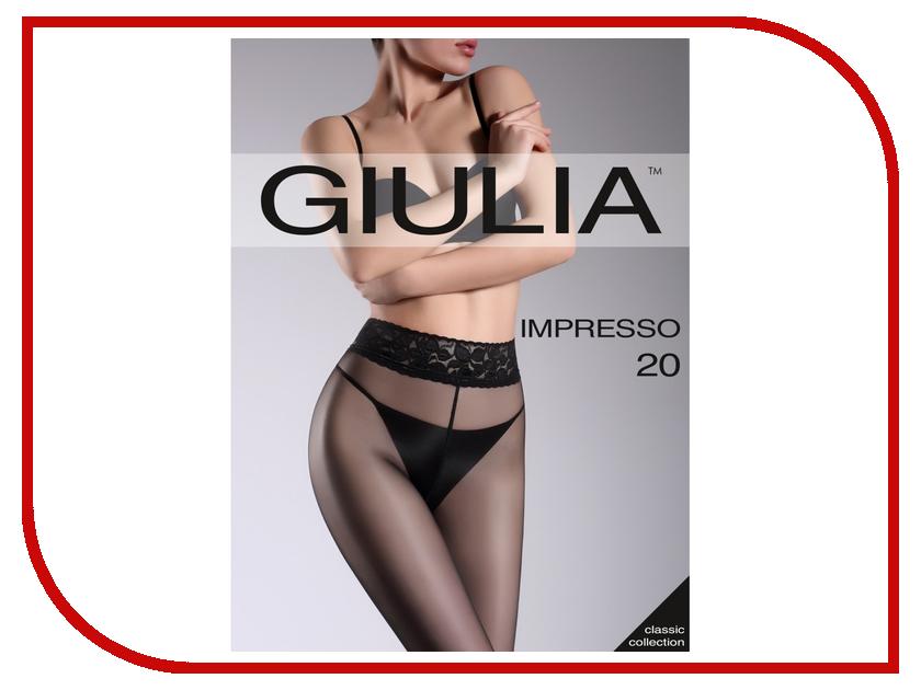 Колготки Giulia Impresso размер 2 плотность 20 Den Nero колготки giulia колготки классика модель impresso 20