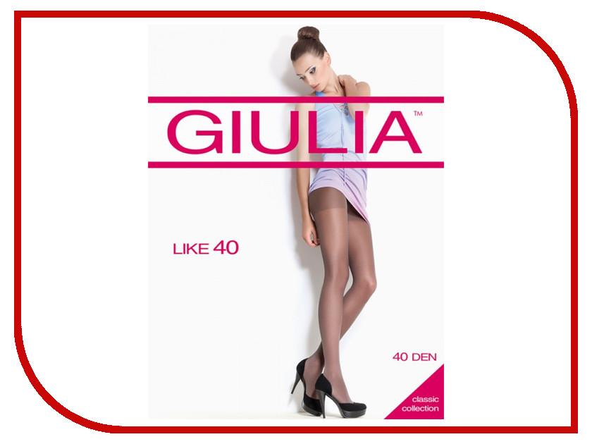 Колготки Giulia Like размер 5 плотность 40 Den Playa колготки giulia maya размер 3 плотность 40 den playa
