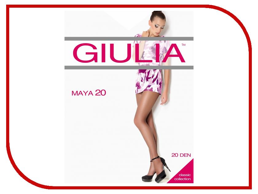 Колготки Giulia Maya размер 5 плотность 20 Den Nero колготки giulia колготки фантазия модель monica 02