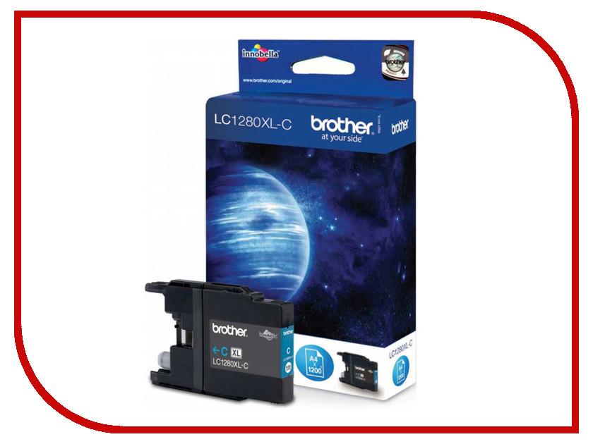 Картридж Brother LC1280XLC Light Blue для MFC-J6510DW/J69010DW мфу brother mfc l2700dnr