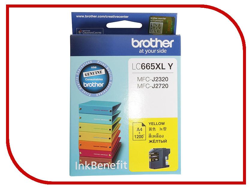 Картридж Brother LC665XLY Yellow для MFC-J2320/J2720
