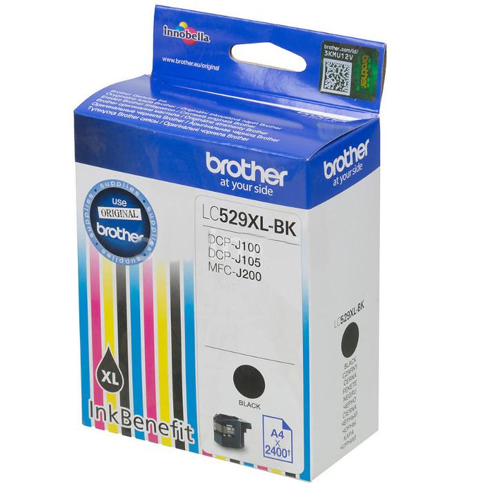 Картридж Brother LC529XLBK Black для DCP-J100/J105/J200