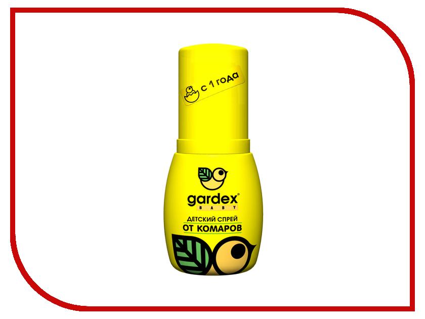 Средство защиты от комаров Gardex Baby спрей от комаровдля детей 50мл спрей от комаров chicco
