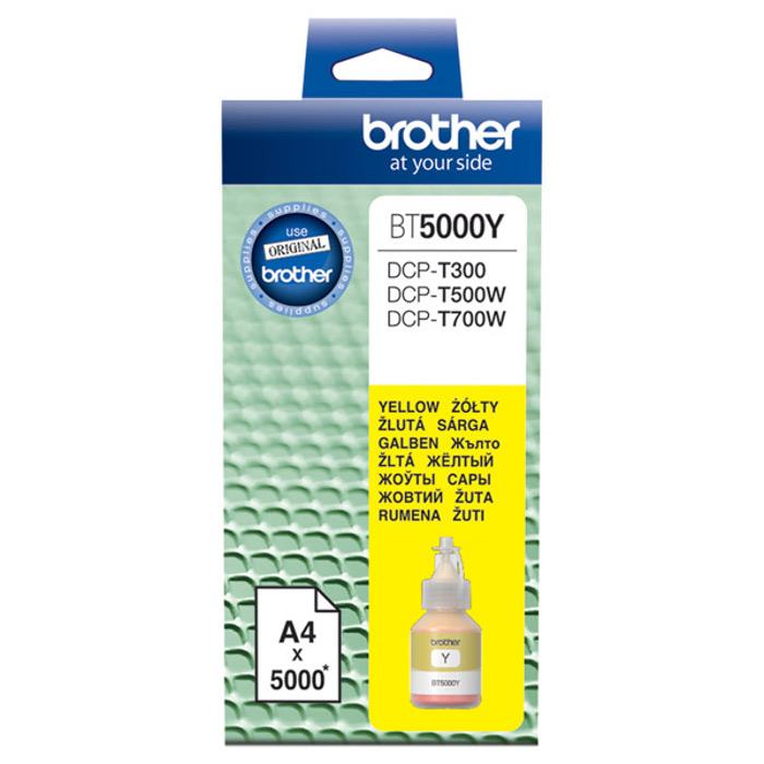 все цены на Чернила Brother BT5000Y Yellow для DCP-T300/T500W/T700W онлайн