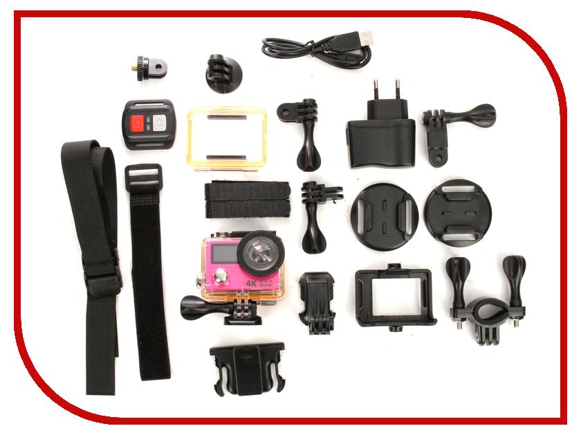 Экшн-камера EKEN H3R Ultra HD Pink eken pano360 экшн камера