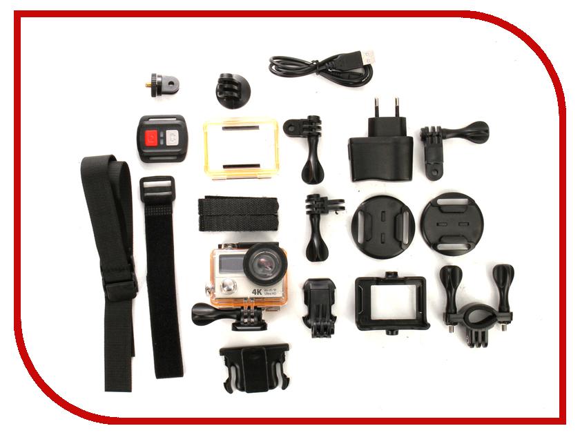 Экшн-камера EKEN H3R Ultra HD Silver