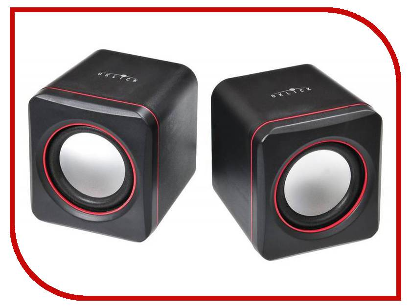 Колонка Oklick OK-301 Black-Red