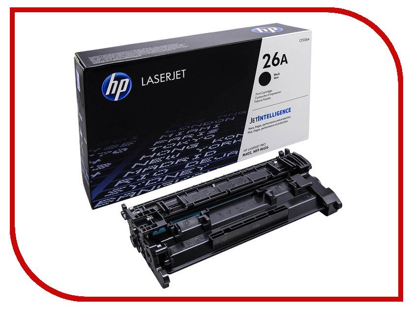 Картридж HP 26A CF226A Black для LJ Pro M402/M426 цена 2017
