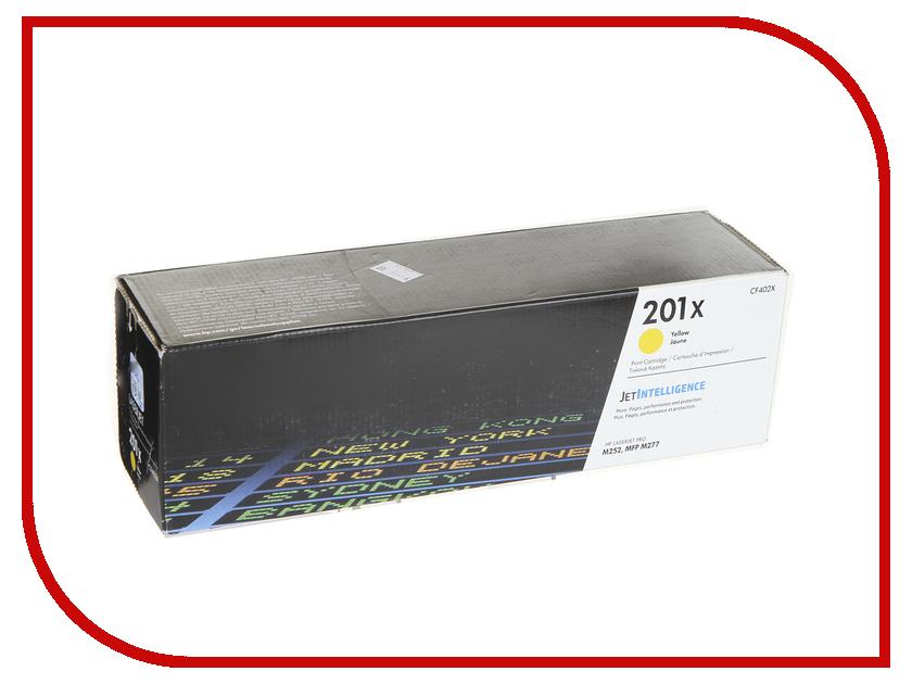 Картридж HP 201X CF402X Yellow для CLJ Pro M252/M277 hewlett packard hp многофункциональная аппаратура для печати копии факса сканирования