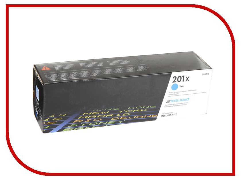 Картридж HP 201X CF401X Light Blue для CLJ Pro M252/M277 картридж hp 201a cf403a magenta для clj pro m252 m277