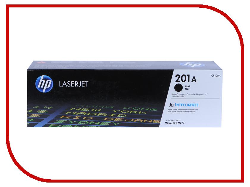 Картридж HP 201A CF400A Black для CLJ Pro M252/M277 hewlett packard hp многофункциональная аппаратура для печати копии факса сканирования
