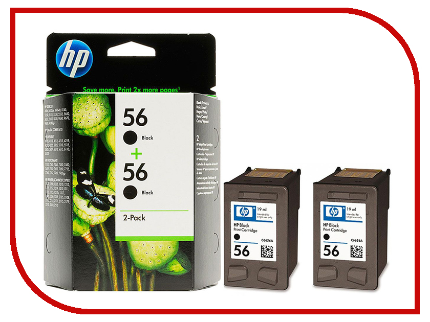 Картридж HP 56 C9502AE Black для DJ 5550/450 PS7150/7350/7550 картридж для мфу hp 56 c6656ae black