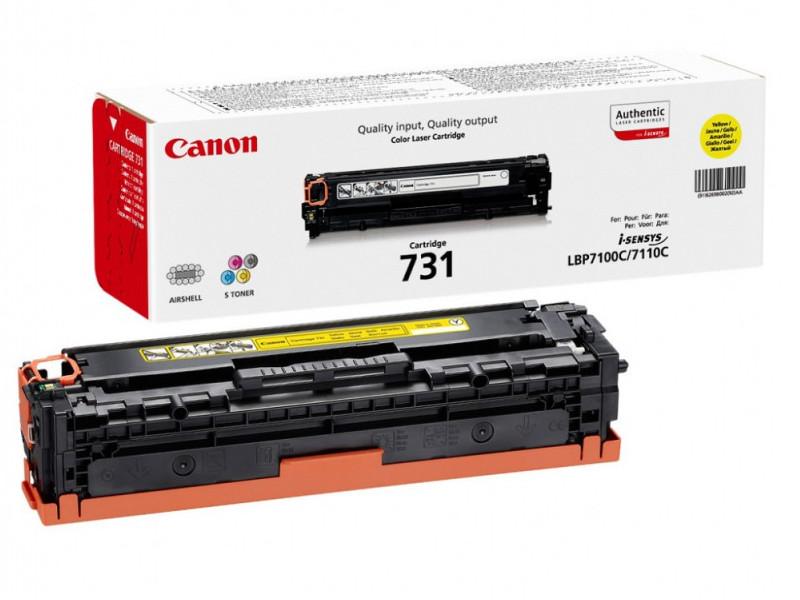 Картридж Canon 731Y 6269B002 Yellow для LBP7110