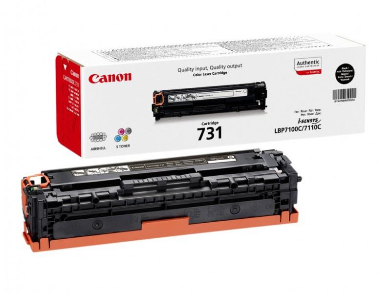 Картридж Canon 731HBK 6273B002 Black для LBP7110