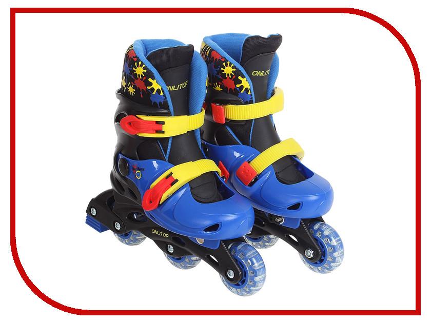 Коньки Onlitop PVC 64mm 1231435 коньки onlitop 38 41 blue black 1231419
