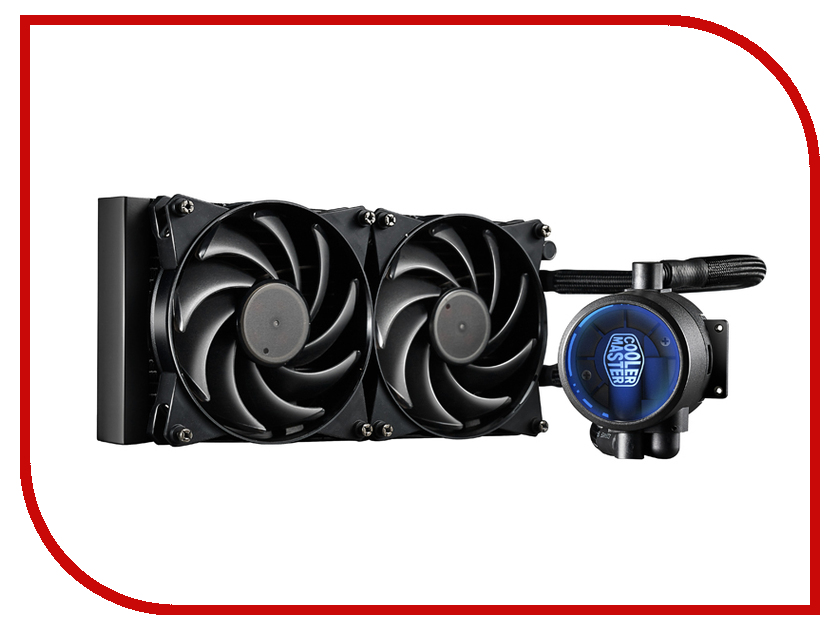 Водяное охлаждение Cooler Master MasterLiquid Pro 240 MLY-D24M-A20MB-R1 (Intel LGA2011-3/2011/1366/1156/1155/1151/1150/775/AMD FM2+/FM2/FM1/AM3+/AM3/AM2+/AM2)