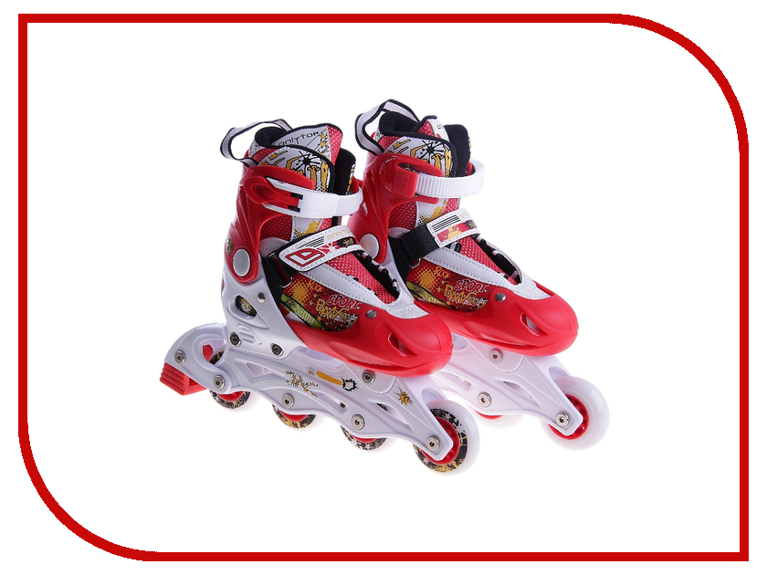 Коньки Onlitop ABEC-5 33-36 Red 119280 коньки onlitop abec 5 33 36 red 119280