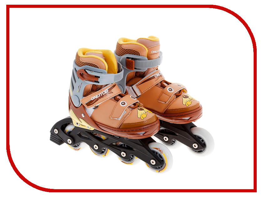Коньки Onlitop ABEC-5 31-34 Brown 869407 коньки onlitop abec 5 33 36 red 119280