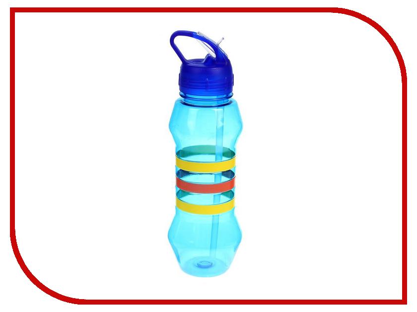 купить Бутылка СИМА-ЛЕНД Три полоски 750ml Blue 1189440 недорого