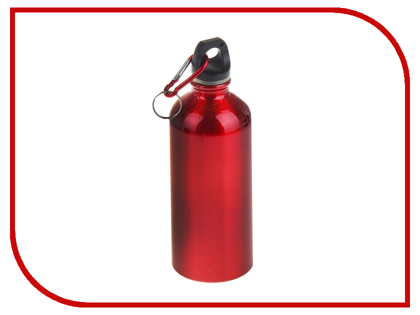 Бутылка СИМА-ЛЕНД Классика 600ml Red 1164299