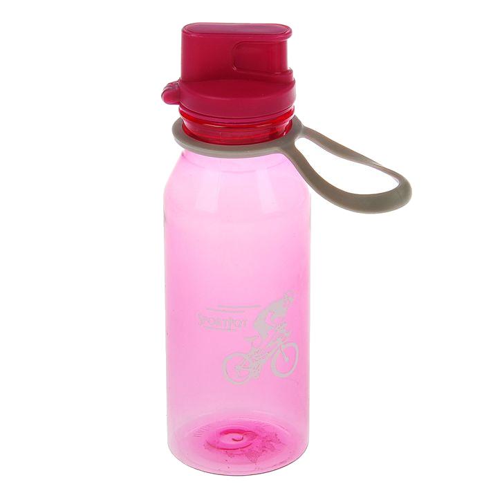 Бутылка СИМА-ЛЕНД Велоспорт 500ml Pink 1684783