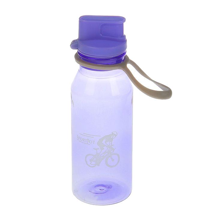 Бутылка СИМА-ЛЕНД Велоспорт 500ml Lilac 1684781