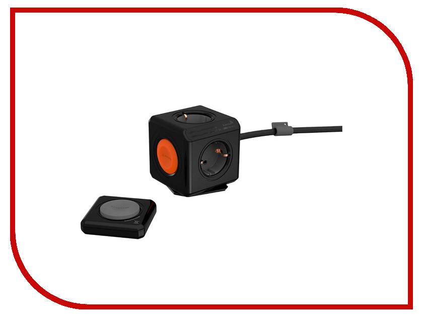 Удлинитель Allocacoc Extended Remote 1.5m Black 1512BK/EUEXRM allocacoc 9101 pb4seu power bar 4 sockets