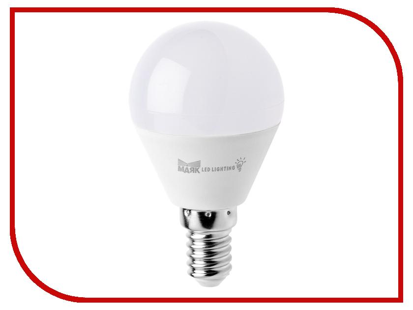 Лампочка Маяк LB-G45-E14/6W/3000-001 шар
