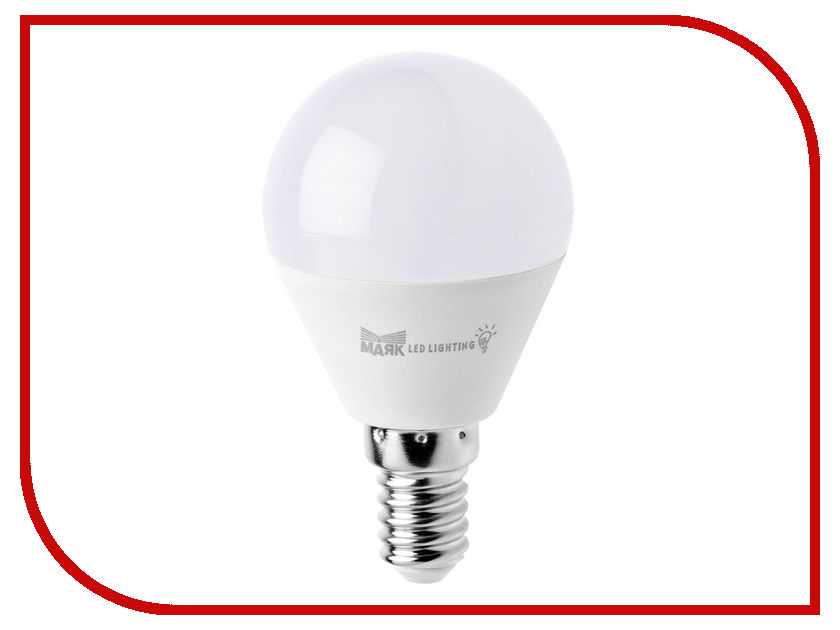 Лампочка Маяк LB-G45-E14/6W/4000-001 шар sharp r 8772nsl