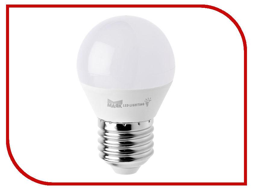Лампочка Маяк LB-G45-E27/6W/4000-001 шар